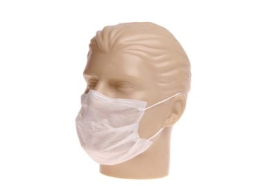 Mascara TNT Descartável com Elástico COD-2168