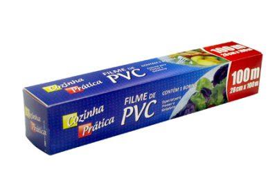 4547 FILME PVC COZINHA PRATICA 28X100 CHAMPANHE