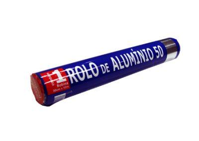 5771 ROLO DE ALUMINIO 30X50 COZINHA PRATICA