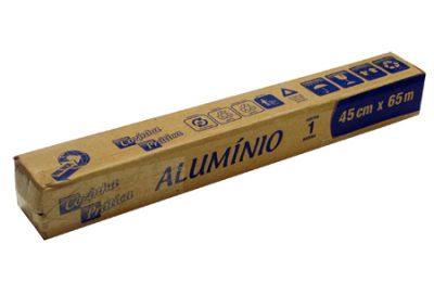 5850 ROLO DE ALUMINIO 45X65 COZINHA PRATICA